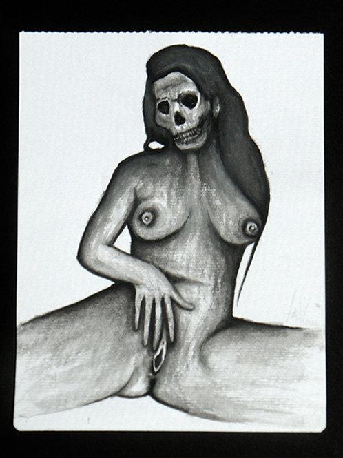 Watercolour Death Sketch 3