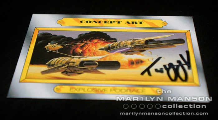 Twiggy Owned And Signed Card