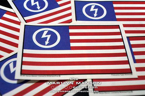 Shock Flag Official Winterland Sticker