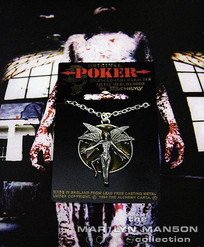 Antichrist Superstar Da Vinci Angel Necklace