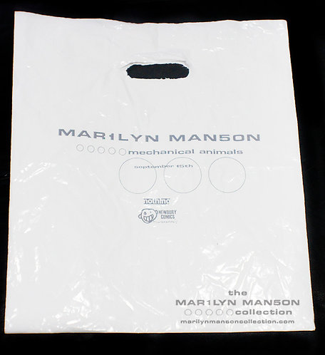 Mechanical Animals Promo Bag