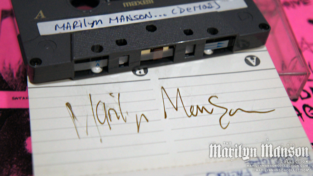 Marilyn Manson Demos Tape