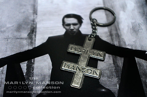 Double Cross Large Tour Keyring