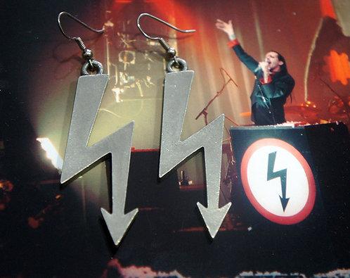Original 1997 Shock Symbol Earrings