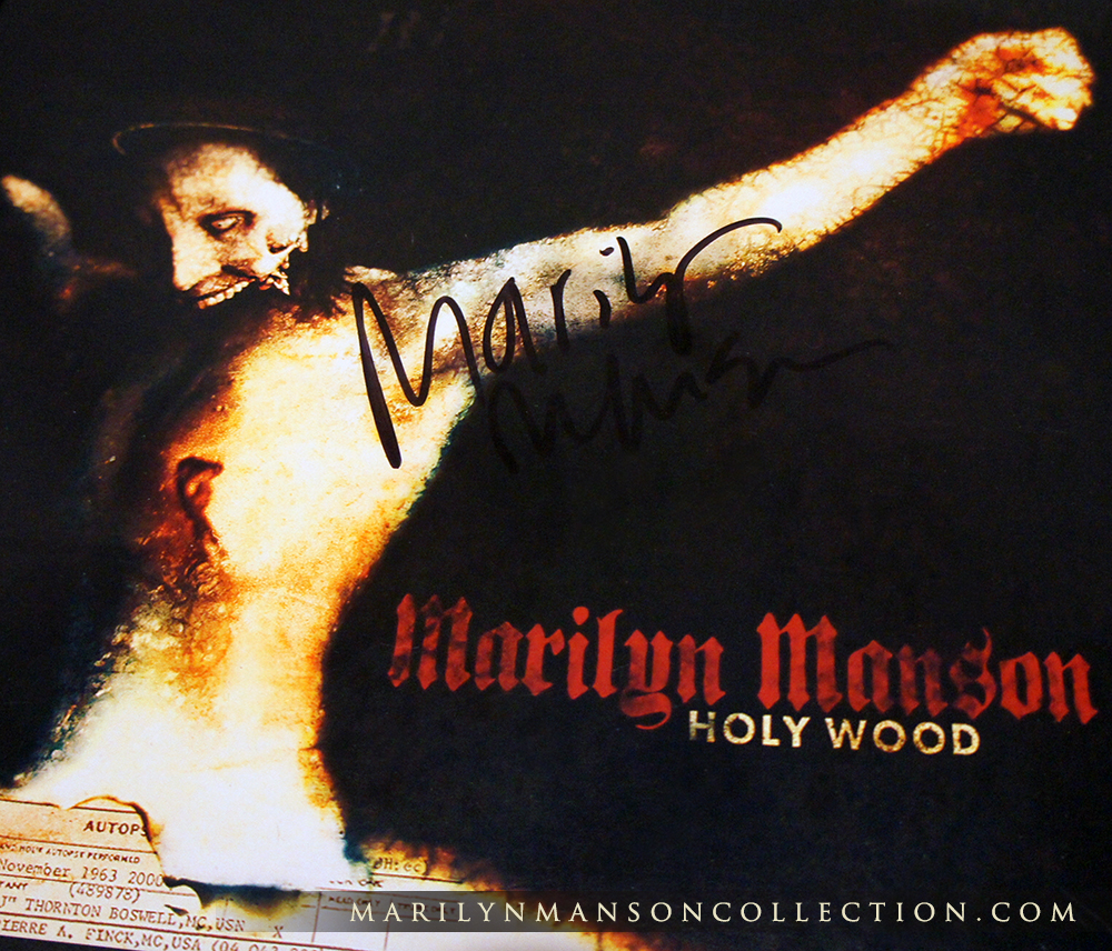 Holy Wood Signed Promo Flat