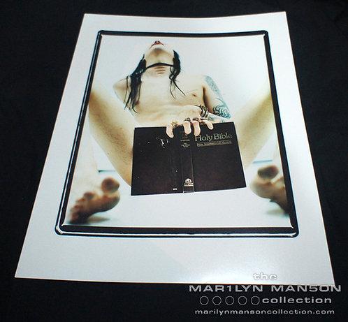 Joseph Cultice Marilyn Manson Antichrist Era Photo Print 4