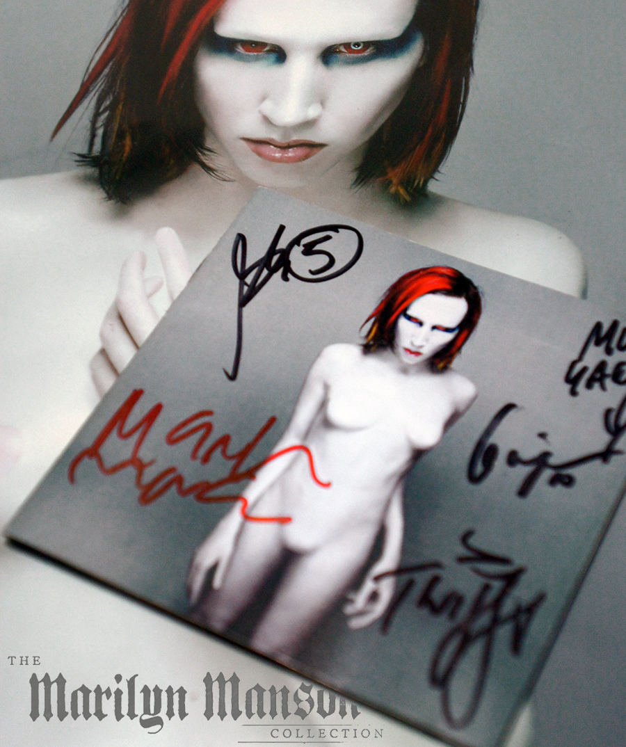 Signed Mechanical Animals CD