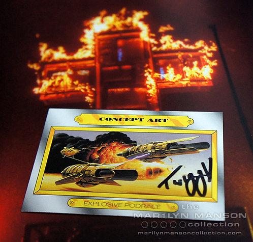 Twiggy Ramirez Signed Card