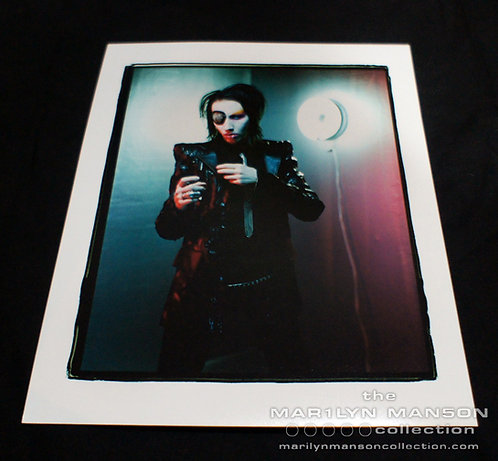 Joseph Cultice Marilyn Manson Mechanical Animals Era Print