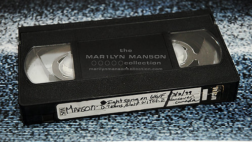 John 5 Owned Marilyn Manson Vancouver 1999 Extras VHS