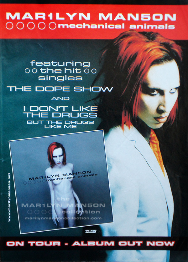 Mechanical Animals Promo Ad