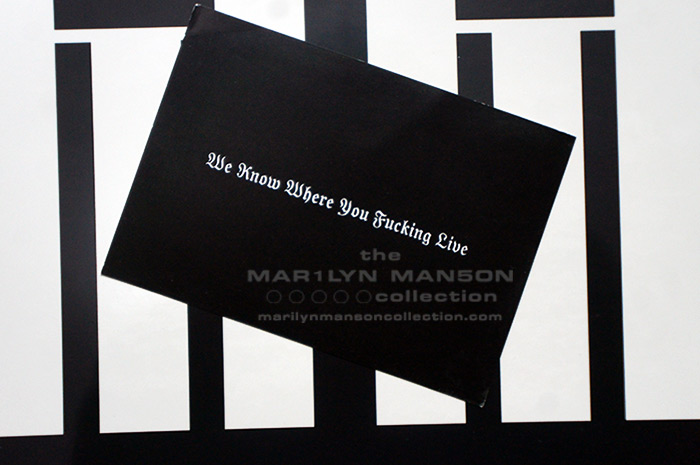 Heaven Upside Down Promo Postcard