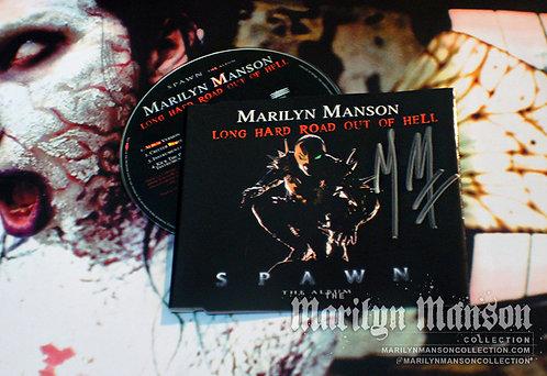 Marilyn Manson Signed Long Hard Road CD Single
