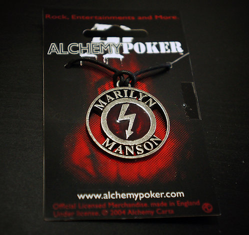 Winterland Alchemy Poker 1997 Shock Symbol Necklace