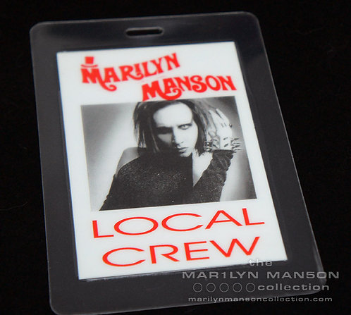 Mechanical Animals Local Crew Laminate