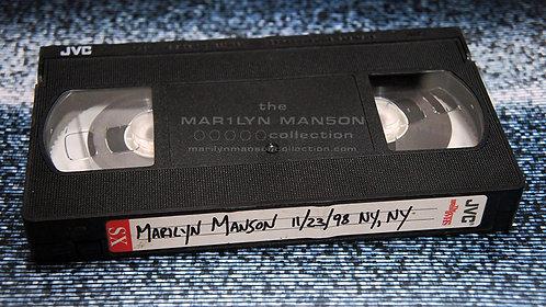 John 5 Owned Marilyn Manson New York 1998 VHS