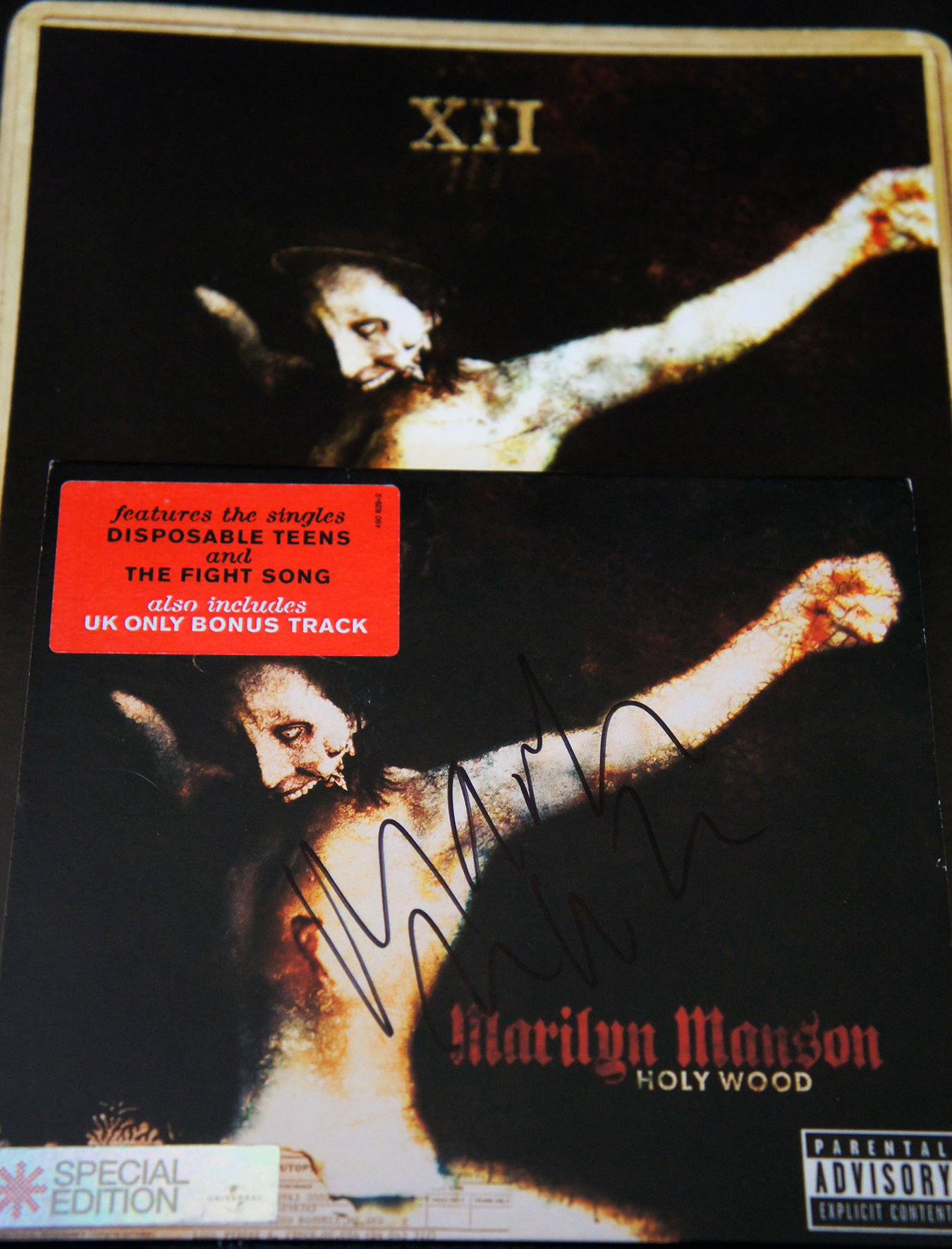 Holy Wood Signed CD