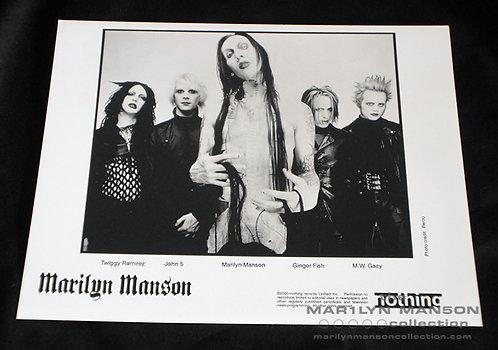 Marilyn Manson Holy Wood Era Original Promo Photo 2