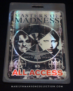Alice Cooper/Marilyn Manson Pass