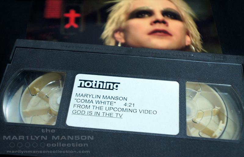 John 5's Coma White VHS