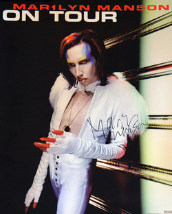 Mechanical Animals On Tour Poster