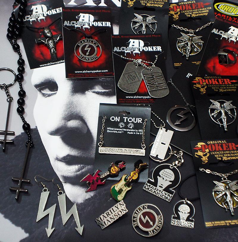 Marilyn Manson Jewelry