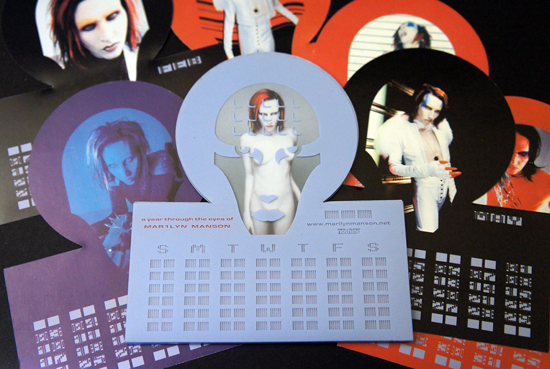 Mechanical Animals Desk Calendar
