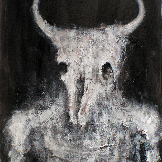 The Pale White Minotaur
