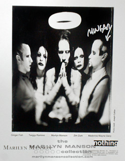 Madonna Wayne Gacy Signed Press Phot