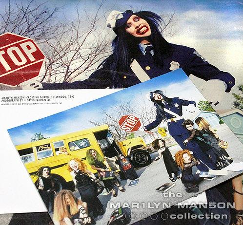 David LaChapelle Official Crossing Guard Postcard