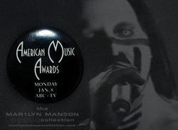 American Music Awards Promo Pin
