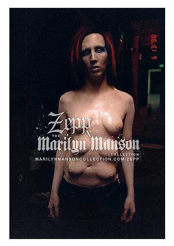 Zepp Manson Portrait - Original Mechanical Animals Shoot