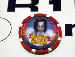 Hard Rock New Years Eve Poker Chip