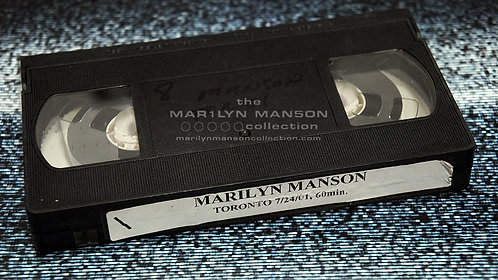 John 5 Owned Marilyn Manson Toronto 2001 VHS