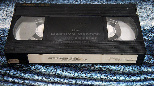 John 5 Owned Marilyn Manson vs Hole and News Of Sydney 1999 VHS