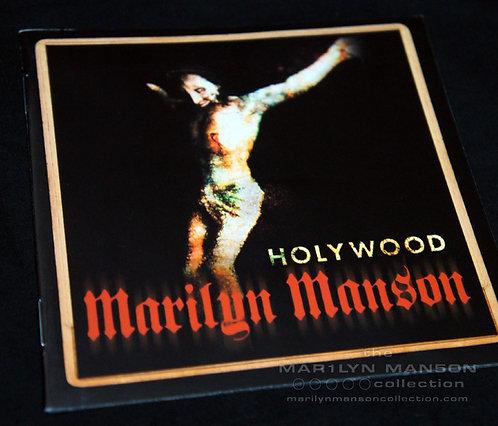 Holy Wood Spanish Promo Lyric Booklet