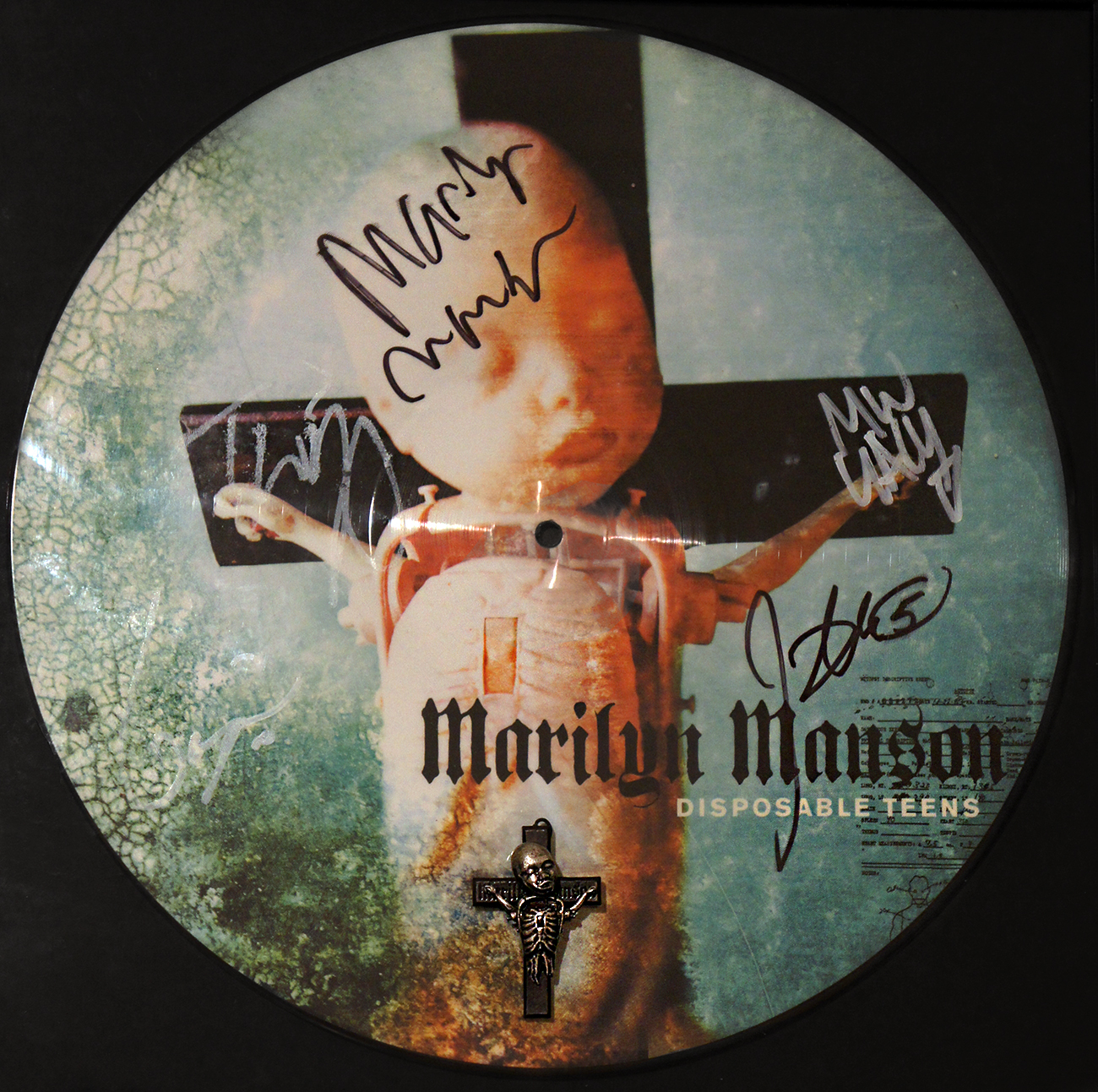 Disposable Teens Signed Picture Disc
