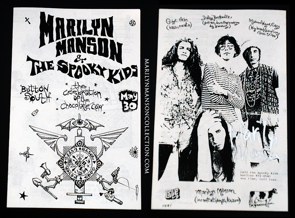 Spooky Kids Original Signed Booklet