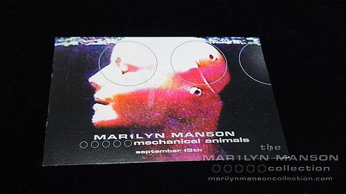 Mechanical Animals Promo Postcard 1998