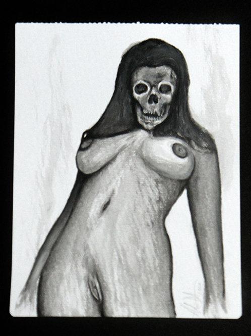 Watercolour Death Sketch 1