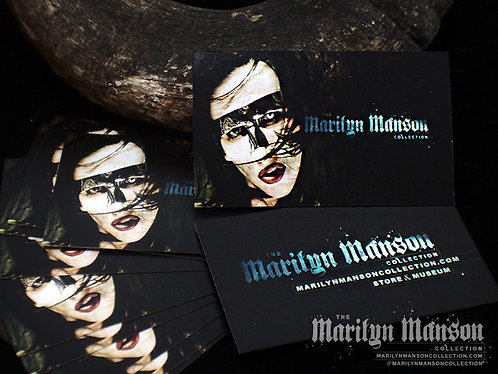 ORDER ADD ON - Marilyn Manson Collection Card V2