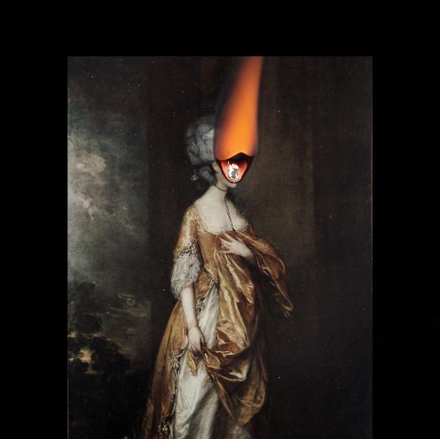 The Burning Lady I