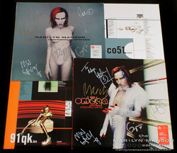 Mechanical Animals Signed Vinyls