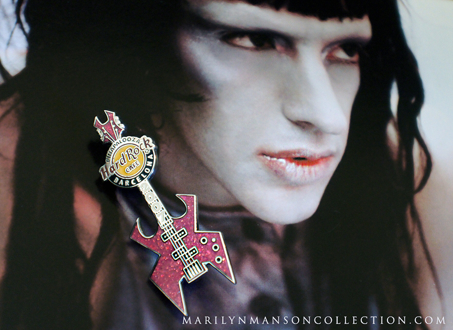Twiggy Ramirez Guitar Pin