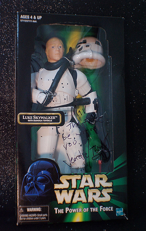 Twiggy Ramirez Owned Star Wars Figure With Inscription
