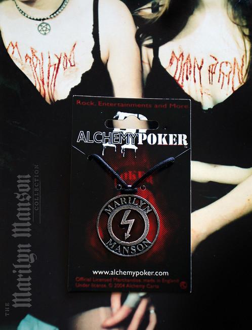 Antichrist Superstar Alchemy Shock Symbol Pendant