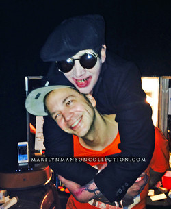 Manson and Michael Alig Print