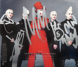 The Golden Age Of Grotesque Signed CD Inlay