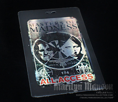 Masters Of Madness All Access Pass 2013