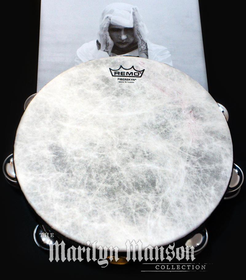 Manson's Stage Used Tambourine